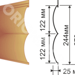 Заказать онлайн фасадную панель Размеры панели с доставкой по России недорого