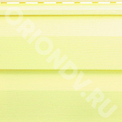Купить онлайн Без категории Сайдинг виниловый лимонный в Orion с доставкой по городу и недорого