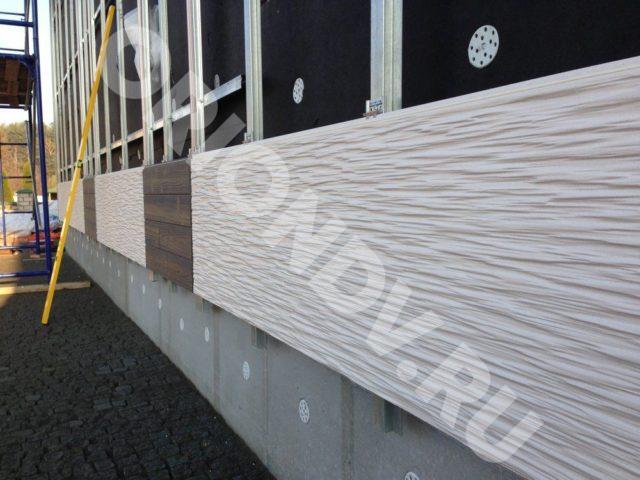 Купить фиброцементные панели для фасада в Хабаровске